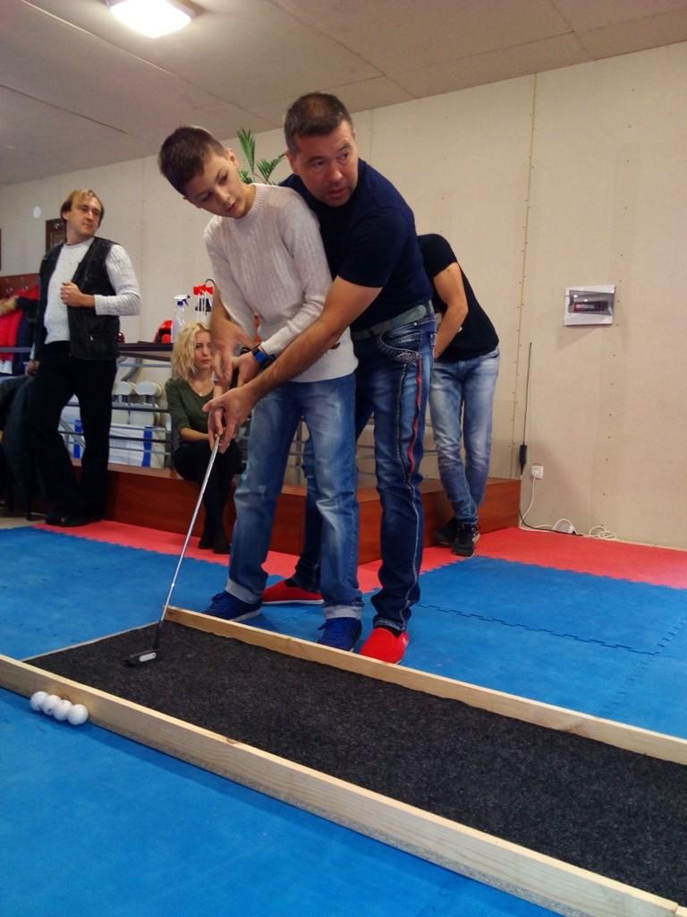 Чемпионат по офисному мини-гольфу в Измаиле - первый и не последний
