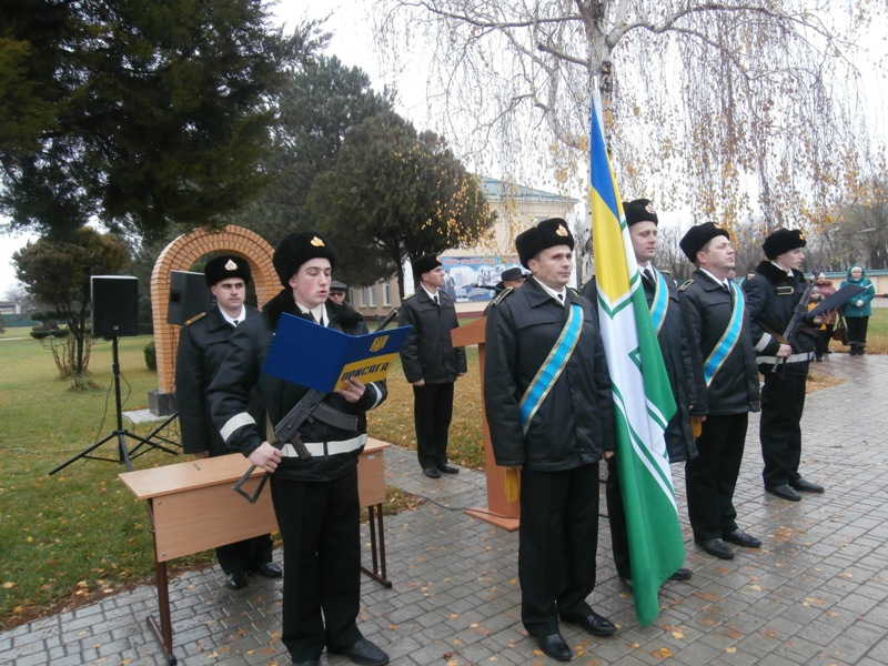 PB270041 Будущие моряки-пограничники присягнули на верность украинскому народу (фото)