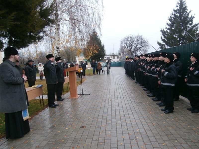 PB270088 Будущие моряки-пограничники присягнули на верность украинскому народу (фото)