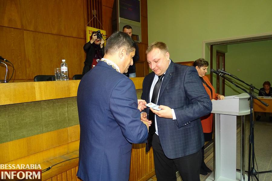 RO817RkXA0w В Измаиле прошла инаугурация мэра