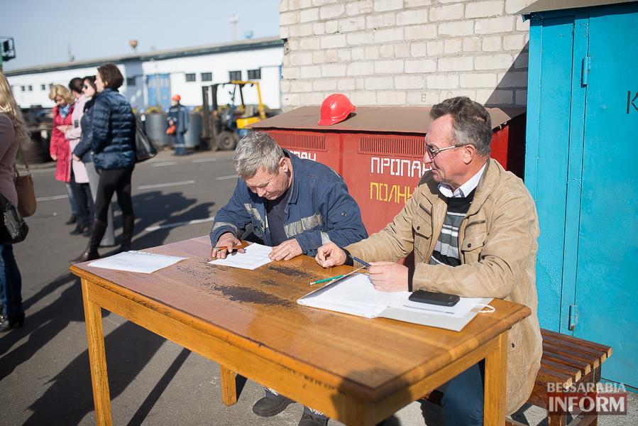 В Измаильском порту выбирали профи (фото)