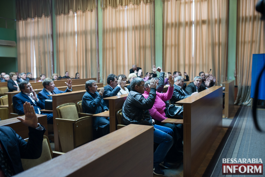 Новый состав Измаильского районного совета приступил к работе