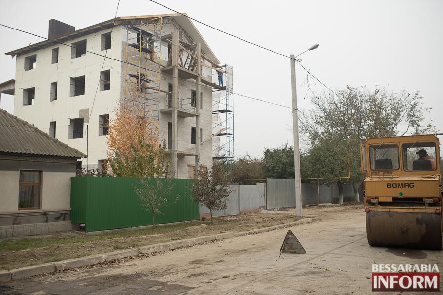 SME_3058 В Измаиле начался ремонт одной из худших дорог города (ФОТО)
