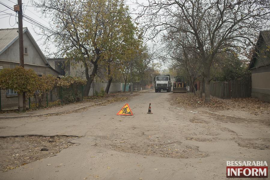 SME_3064 В Измаиле начался ремонт одной из худших дорог города (ФОТО)