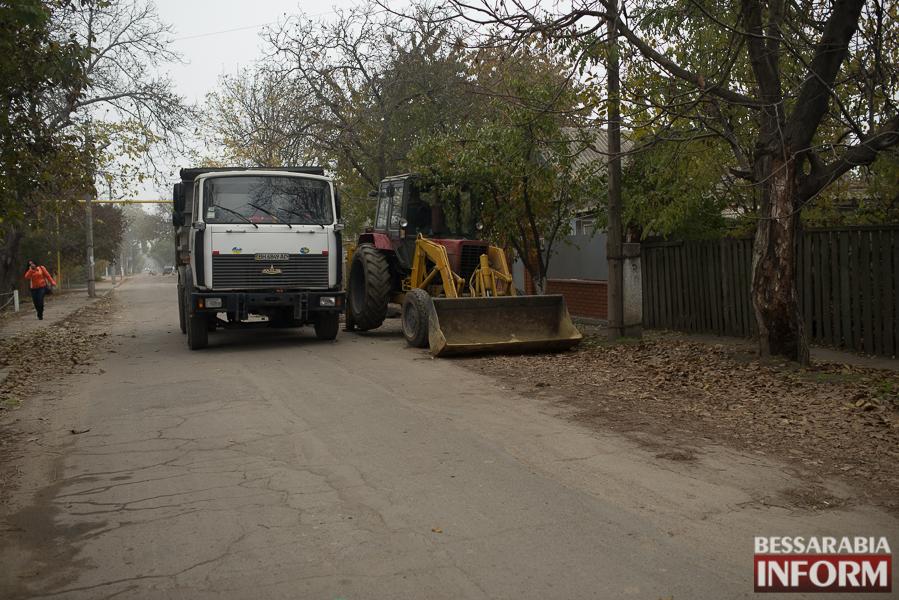 SME_3065 В Измаиле начался ремонт одной из худших дорог города (ФОТО)
