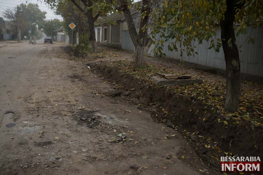 SME_3071 В Измаиле начался ремонт одной из худших дорог города (ФОТО)