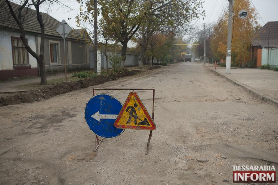 SME_3073 В Измаиле начался ремонт одной из худших дорог города (ФОТО)