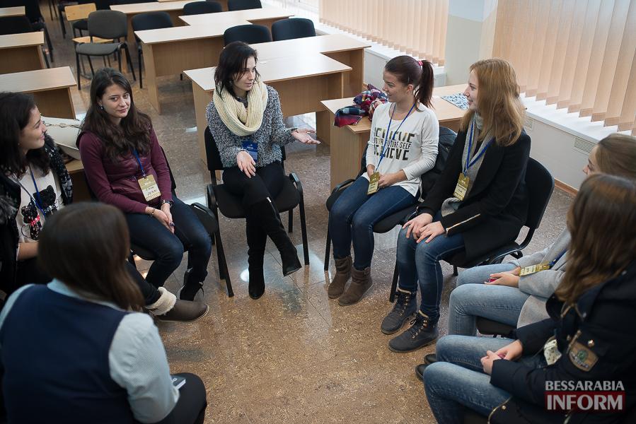 Европа становится ближе - в Измаиле проходит сессия молодежного Европарламента