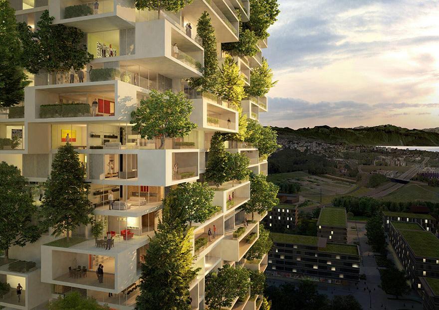 apartment-building-tower-trees-tour-des-cedres-stefano-boeri-5 Небоскрёб, многоквартирный дом и вертикальный вечнозелёный лес в одном флаконе