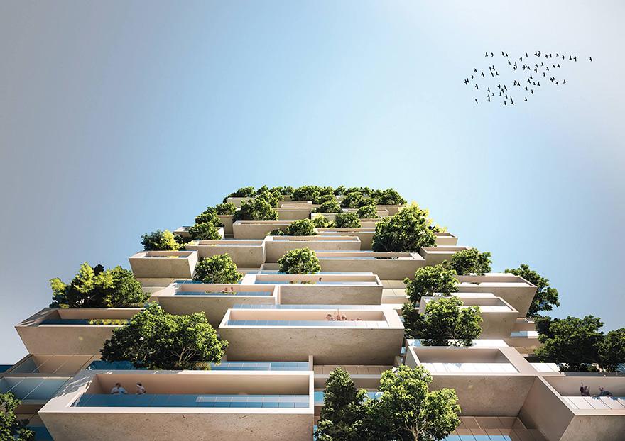 apartment-building-tower-trees-tour-des-cedres-stefano-boeri-7 Небоскрёб, многоквартирный дом и вертикальный вечнозелёный лес в одном флаконе