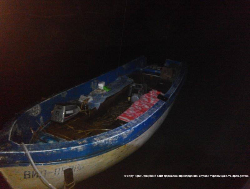 Измаильские пограничники спасли потерявшихся на Дунае рыбаков