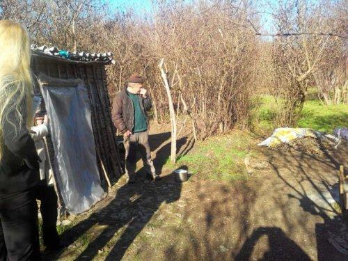 В одной из лесопосадок Саратского р-на обнаружен лесной человек (ФОТО)