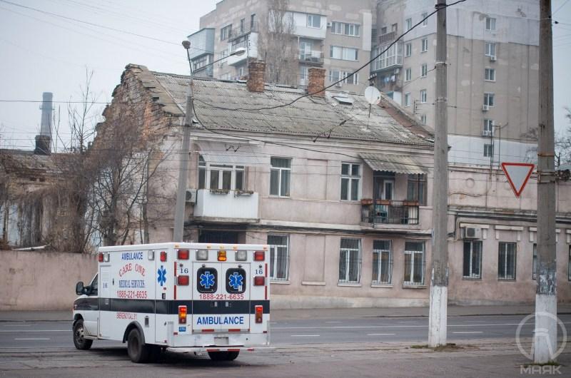 1114 США подарили Белгород-Днестровскому автомобиль скорой помощи (фото)