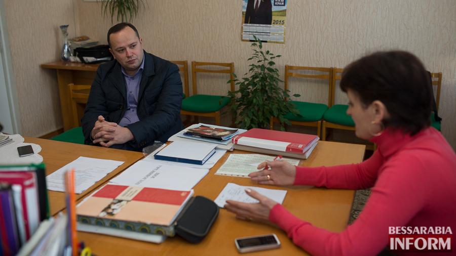 130 Депутат облсовета посетил с рабочим визитом Ренийский р-н