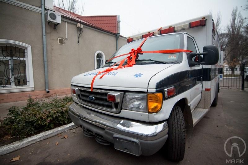 138 США подарили Белгород-Днестровскому автомобиль скорой помощи (фото)