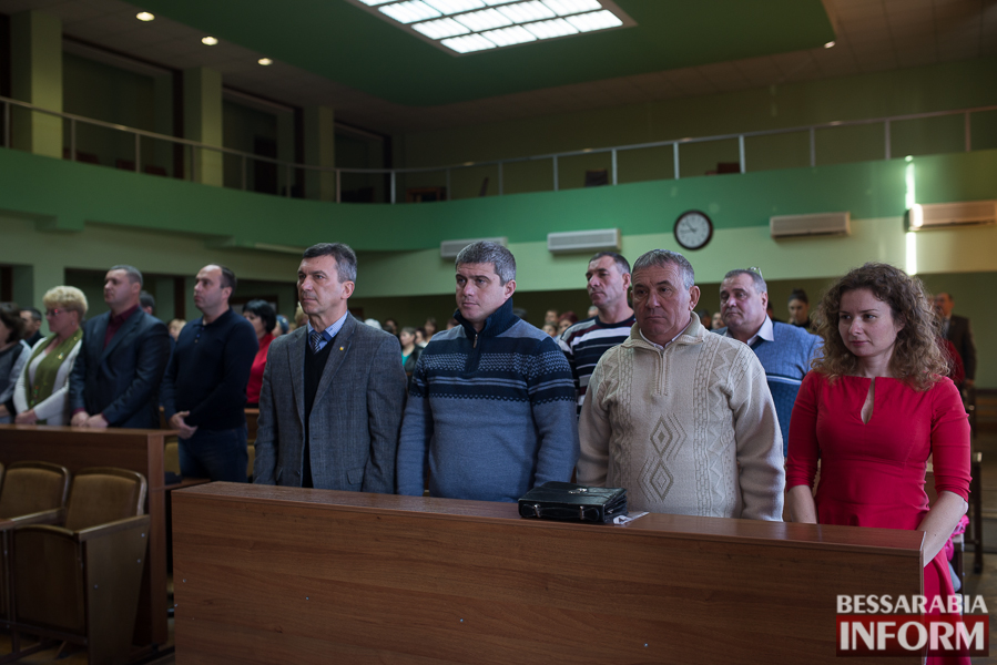 На сессии Измаильского райсовета приняли нового депутата и обсудили экологические проблемы