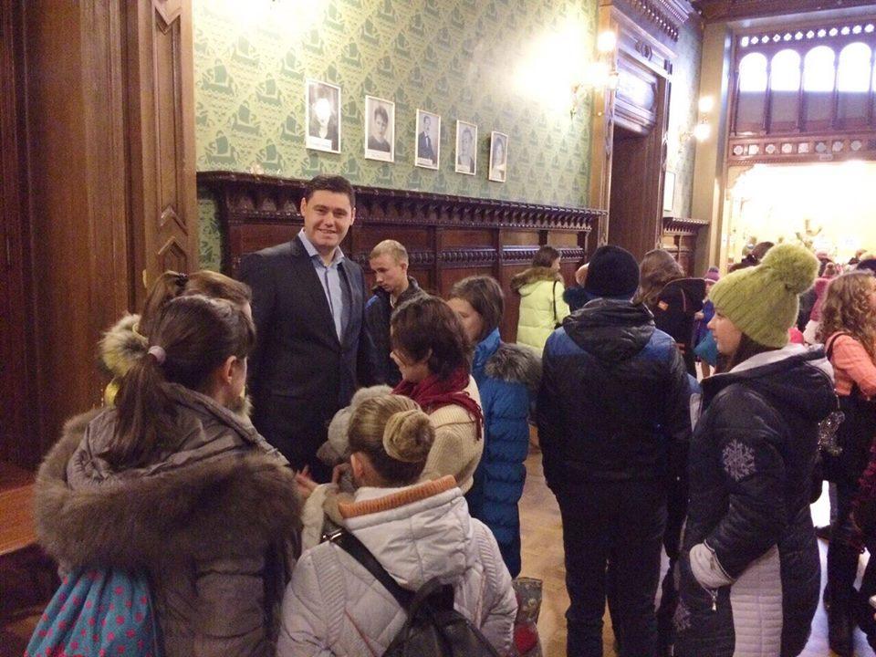 Килийские школьники побывали в Одесской филармонии (фото)