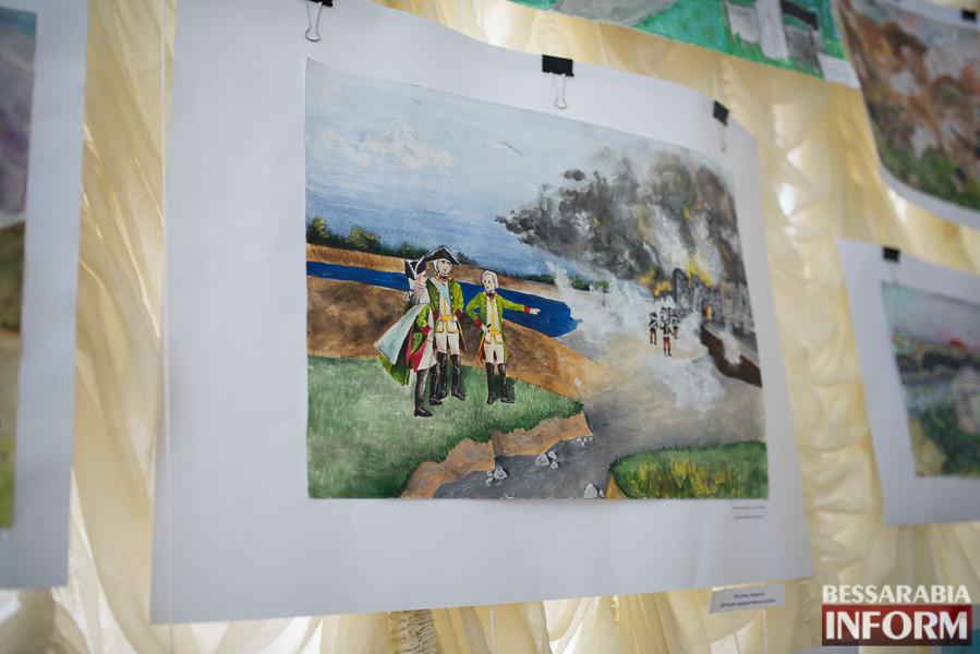 Штурм крепости Измаил на полотнах измаильских художников (ФОТО)