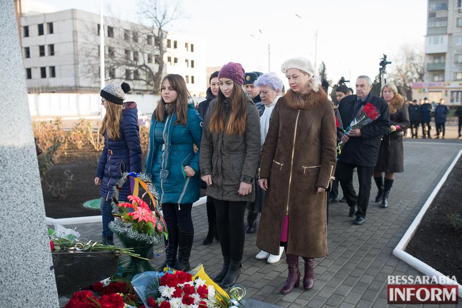 214 В Измаиле почтили память участников ликвидации аварии на ЧАЭС (фото)