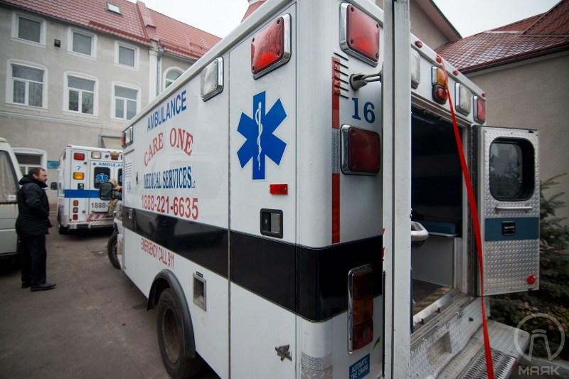 219 США подарили Белгород-Днестровскому автомобиль скорой помощи (фото)