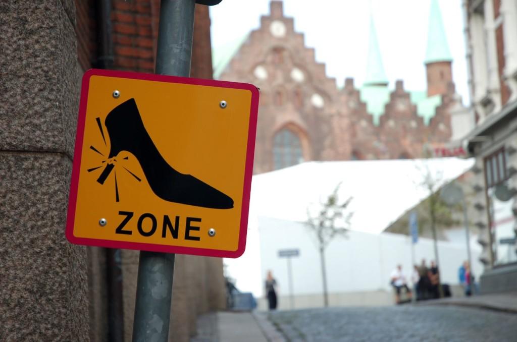 В Болграде установлен необычный дорожный знак (ФОТО)