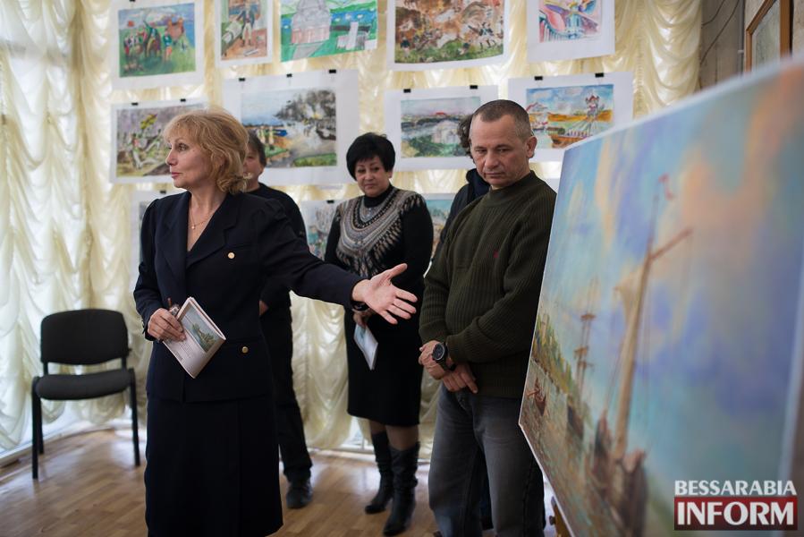 30 Штурм крепости Измаил на полотнах измаильских художников (ФОТО)