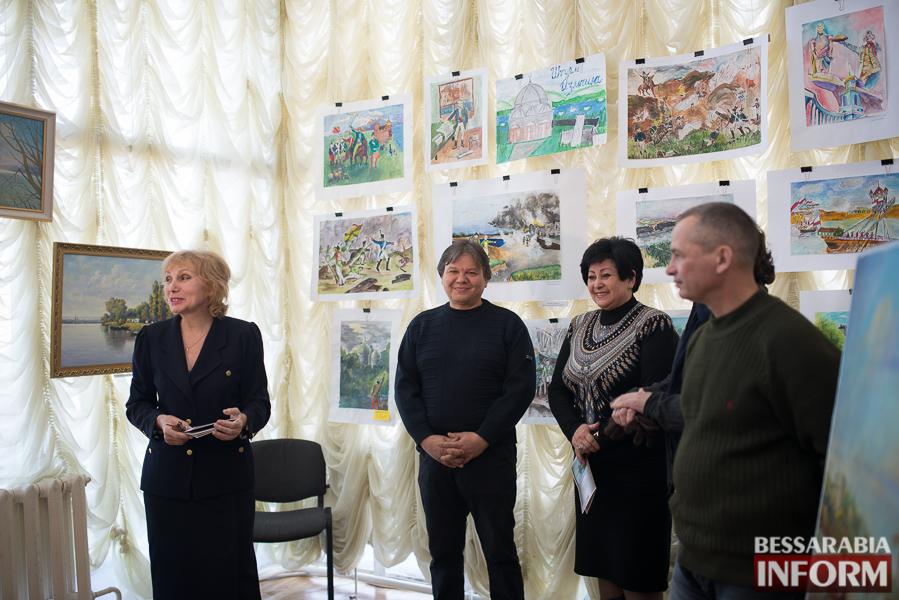 312 Штурм крепости Измаил на полотнах измаильских художников (ФОТО)