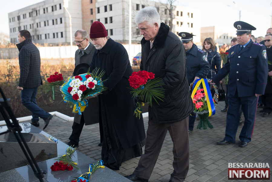 57 В Измаиле почтили память участников ликвидации аварии на ЧАЭС (фото)