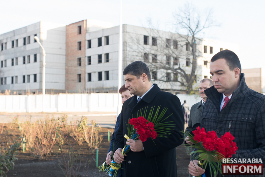 76 В Измаиле почтили память участников ликвидации аварии на ЧАЭС (фото)