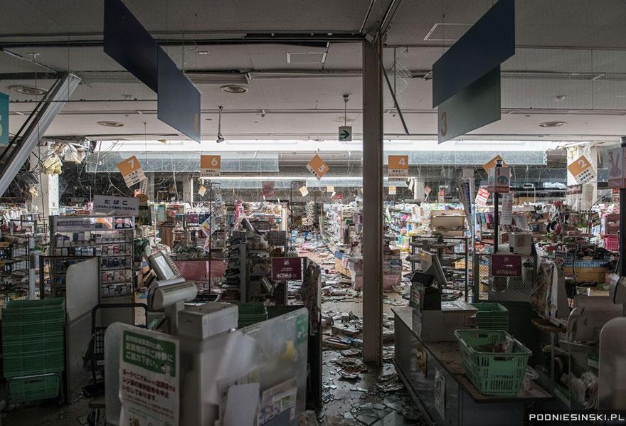 Как природа поглотила покинутую Фукусиму за 4 года