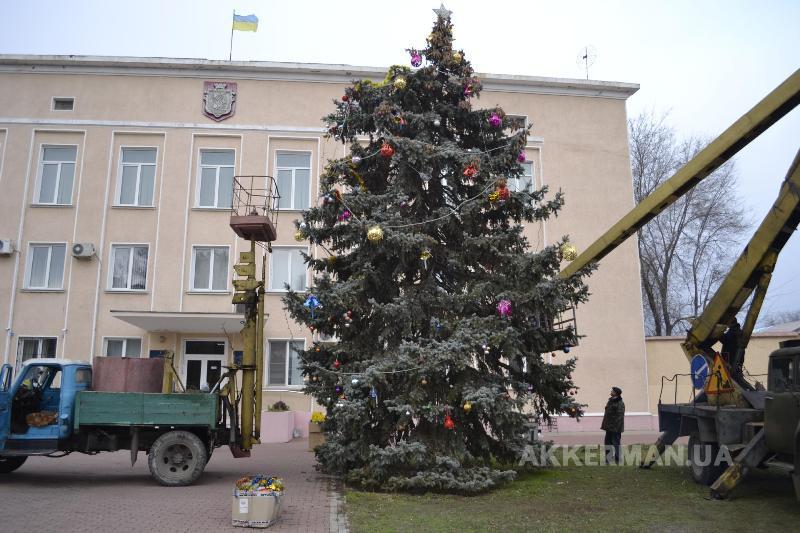 Akkerman Выбираем лучшую новогоднюю елку Бессарабии (голосование от БИ)