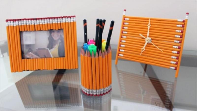 Большие карандаши своими руками