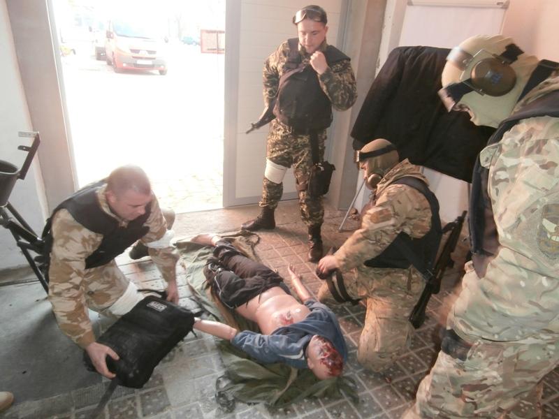 Измаильские моряки пограничники прошли курс тактической медицины в Польше (фото)