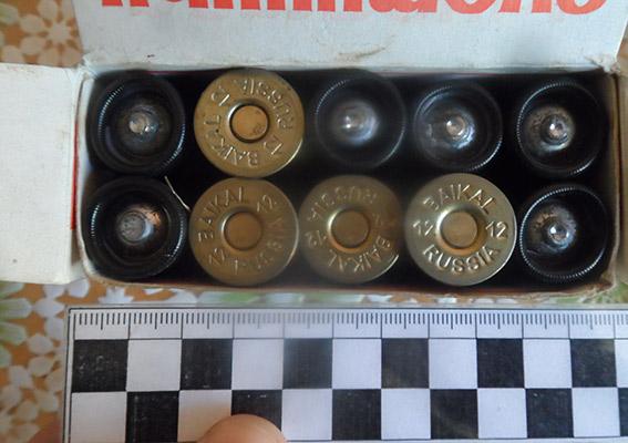 PM534image004 В Аккермане бывший егерь хранил дома найденный в лесу арсенал оружия