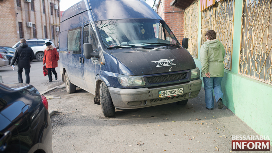 "SME_2774 Ford Transit в рубрике ""Я паркуюсь как ...."""