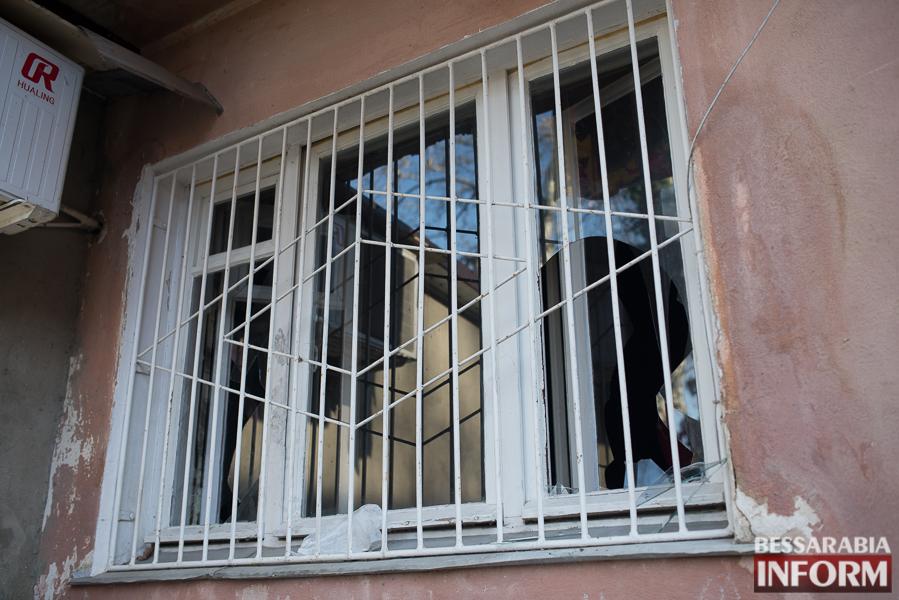 SME_2940 В Измаиле ночью горела квартира: есть погибший (ФОТО)