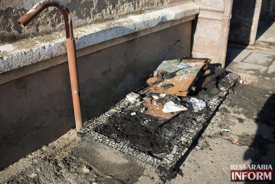 SME_2945 В Измаиле ночью горела квартира: есть погибший (ФОТО)