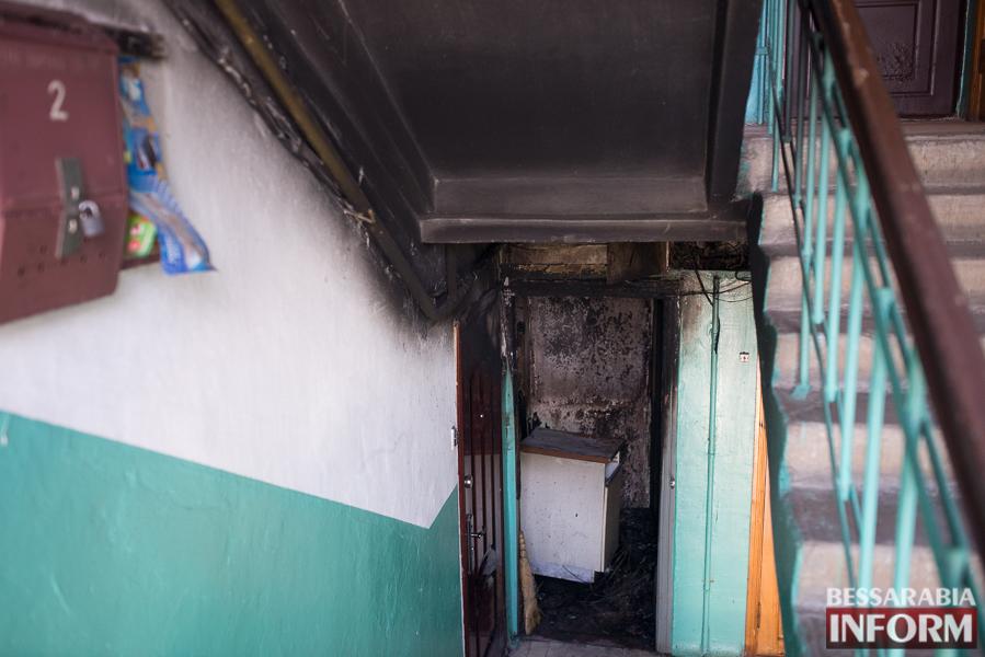 SME_2954 В Измаиле ночью горела квартира: есть погибший (ФОТО)