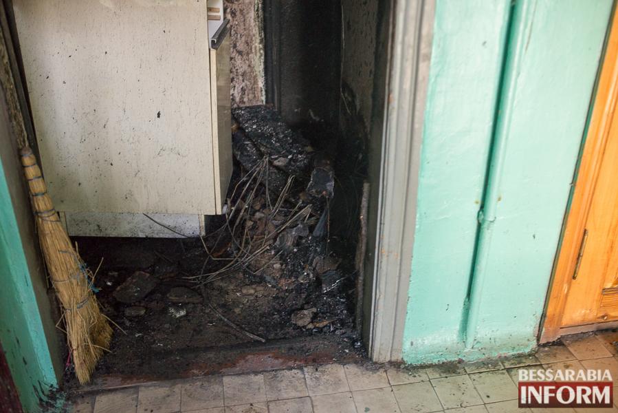 В Измаиле ночью горела квартира: есть погибший (ФОТО)