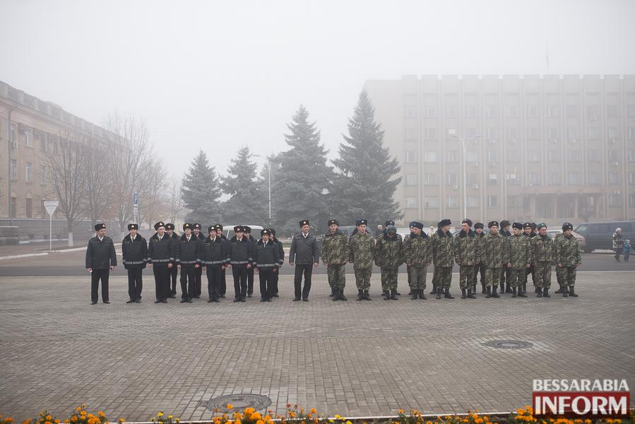 В Измаиле поздравили военнослужащих и почтили память  погибших воинов