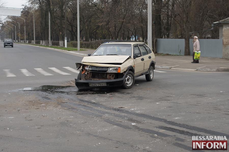 В Измаиле в ДТП попал гость города (фото)