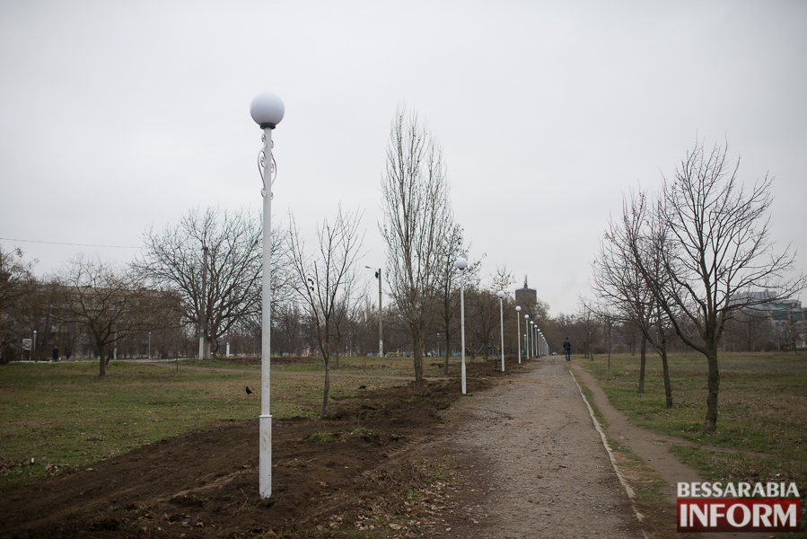 Измаил: Парк Памяти меняется на глазах (ФОТО)