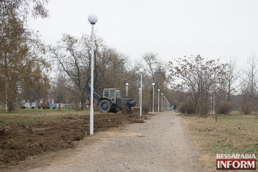 SME_3912 Измаил: Парк Памяти меняется на глазах (ФОТО)