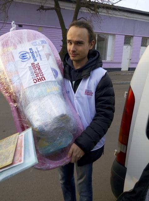 Измаил: помощь беженцам из зоны АТО