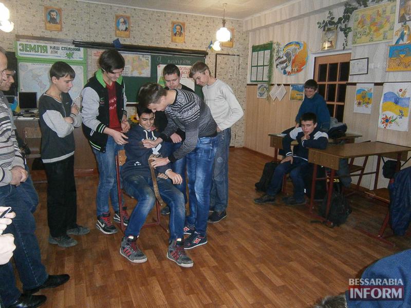Измаильские юноши приняли участие в патриотической квест-игре