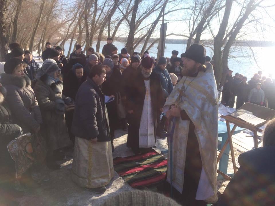 Килия отпраздновала Крещение Господне (фото)