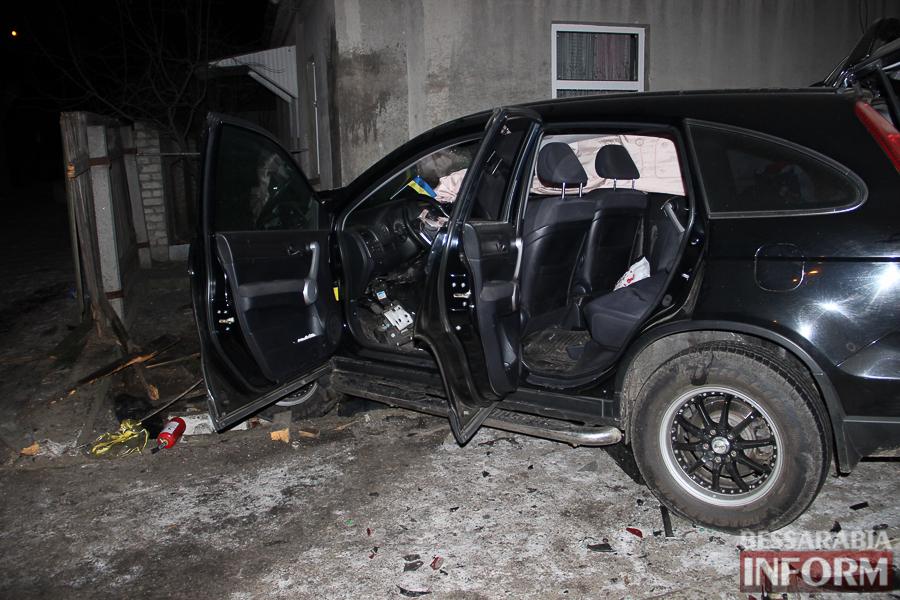 IMG_8773 Очередное серьезное ДТП в Измаиле: Honda врезалась в Niva Chevrolet и сбила человека