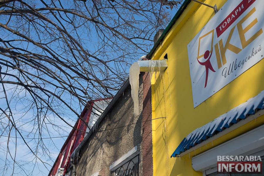 SME_1772-1 Измаил: сосульки на крышах - угроза для жизни (фото)