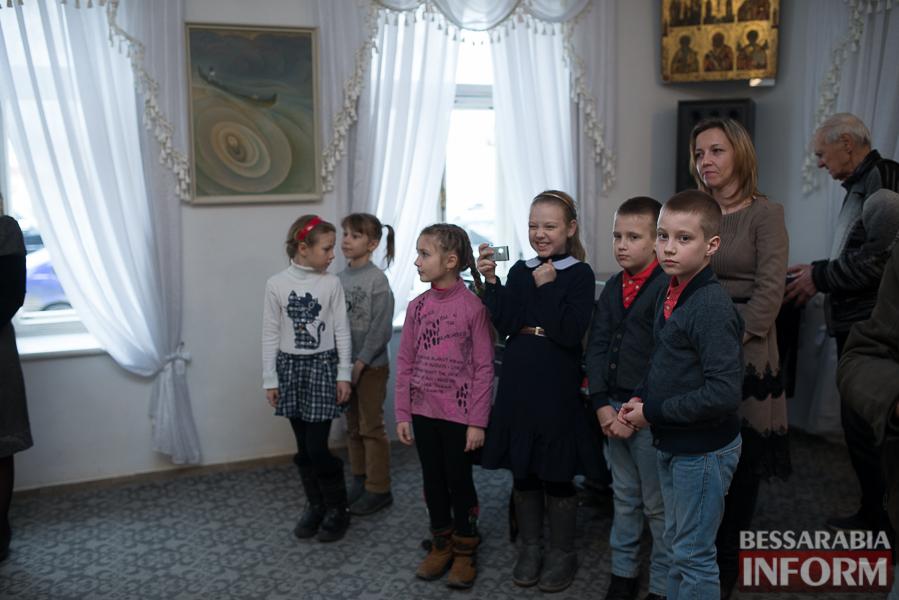 В Измаиле состоялось открытие выставки Ивана Коцофляка