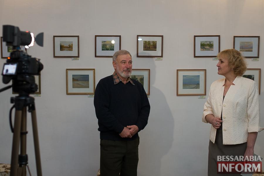 SME_8048 В Измаиле состоялось открытие выставки Ивана Коцофляка
